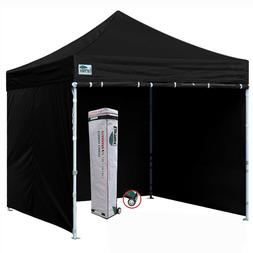 Waterproof Ez Pop Up Commercial Canopy 10x10 Patio Gazebo Te
