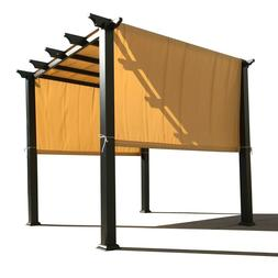 Waterproof Polyester Pergola Cover with Rod Pockets