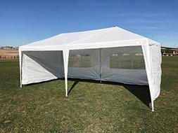 Palm Springs Outdoor 10 x 20 Wedding Party Tent Canopy with