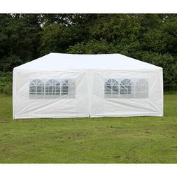 Palm Springs 10 x 20 White Wedding Tent Canopy