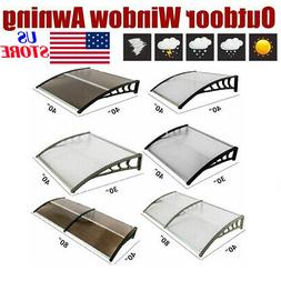 80''x 40''/ 120''x 40'' Front Door Window Awning Cover Patio