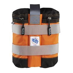 E-ZUP Weight Bag Set, 25 lbs, Set of 4, Steel Orange, w/Grey